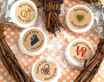 Wedding Favors Mints, Wedding Kraft Life Savers® Mints, Wedding Mints, Bridal Shower Mints, Mint to Be - Set of 50