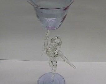 Female Form Wine Glass