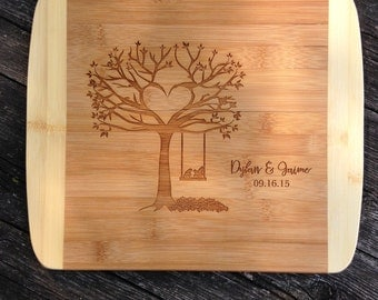 Cutting Board, Personalized Cutting Board,Shower Gift,Wedding Gift,Anniversary Gifts,Housewarming Gift,Laser Engraved