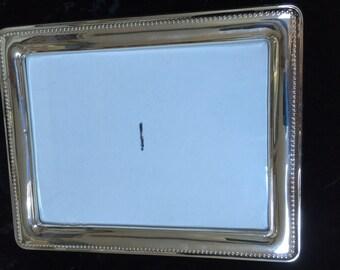 8 x 10 Sterling Silver Frame