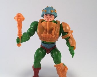 Man At Arms He-Man MOTU Masters of The Universe Retro 80s Vintage Toys Actions Figure