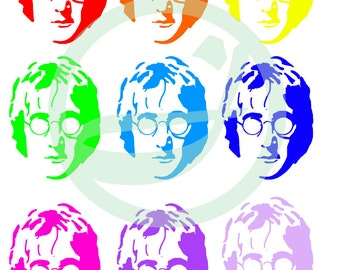 Cool A3 John Lennon piece.