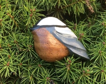 Handmade Chickadee Pin
