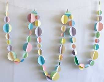 Pastel Garland - Multcoloured 3m or 6m