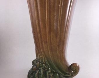 McCoy Cornucopia Vase