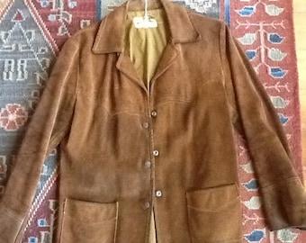 1960s Simco Western Suede Jacket