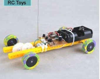 DIY 2 Channel Assemble RC Toys Forward and Back