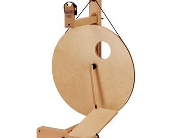 Louet S10 Concept: Bobbin Lead, Single Treadle. Create your own spinning wheel!