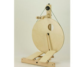 Louet S10 Concept: Scotch Tension, Double Treadle. Create your own spinning wheel!