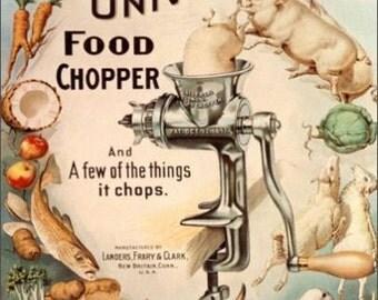 """2"""" x 3"""" Magnet Vintage Food Chopper MAGNET"""