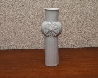 Midcentury op art vase from Germany made by Rheinpfalz, 1960s