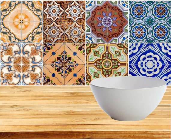 Decals for ceramic tile