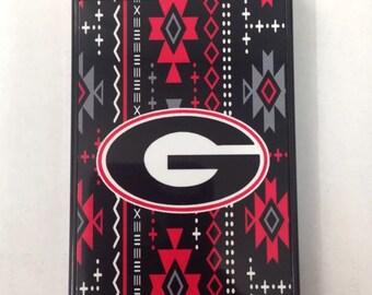 Aztec Georgia bulldogs iPhone 6 5 5s 5c 4 4s 6 plus case cover new UGA aztec iPhone case university of georgia aztec iPhone case
