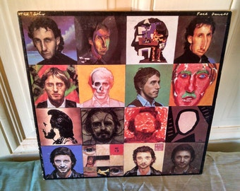 The Who, Face Dances vintage Vinyl Record 1981