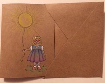 Bringing you some sunshine card