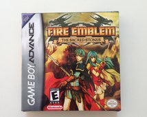 Fire Emblem Sacred Stones for Nintendo Gameboy Advance Replacement box
