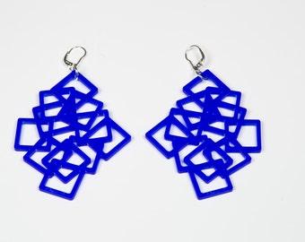 Acrylic Earrings Chaos