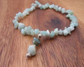 Anklet Beads Anklet Ankle Bracelet Beaded Anklet Star Charm Stretch Anklet Gift For Her Gemstone Bead Anklet
