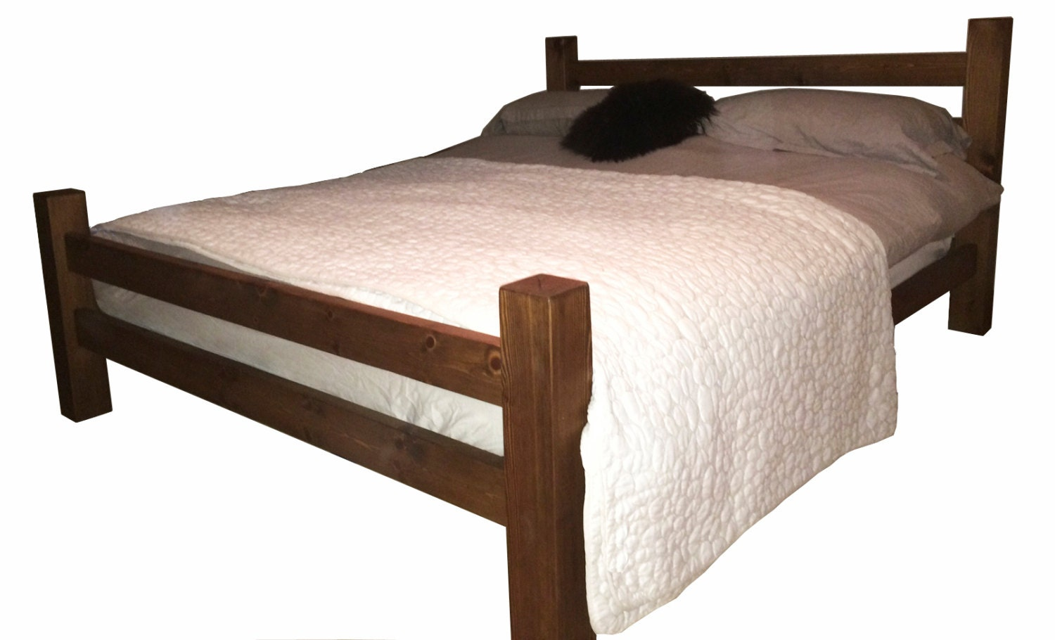 the thames handmade wooden bed frame handmade solid wood low panel bed frame by solidwoodfurnishing 7526
