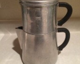 Buckeye Aluminum Ware Wooster Ohio Coffee Pot