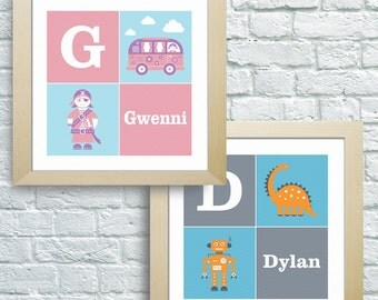 Children's Personalised Wall Art