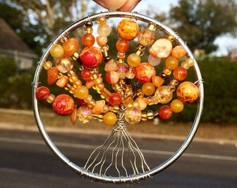 Tree of Autumn Suncatcher