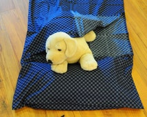 Cotton Sleeping Bag Liner (Navy Kimono) / Lightweight / Easy Washing & Drying / Travel