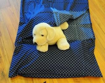 Cotton Sleeping Bag Liner (Navy Kimono) / Lightweight / Easy Washing & Drying / Travel