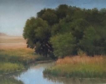 Original oil painting by Sandra Hicks Larson
