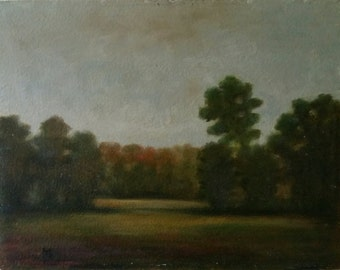 11x14, original oil painting, Sandra Hicks Larson, fall colors