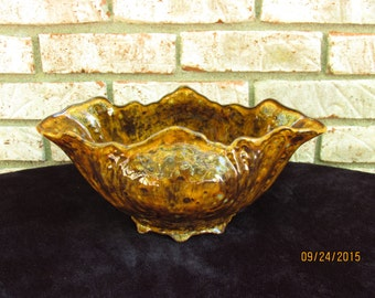 Decorative Ceramic Mantle Bowl/Centerpiece