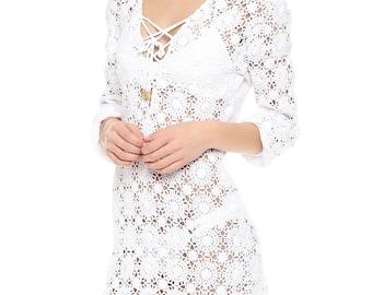 Crochet  tunic PATTERN, detailed  tutorial for every row, trendy crochet tunic pattern,   tunic pattern