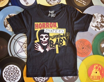 Horror Diapers T-Shirt Infant Punk The Misfits