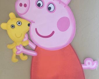 Pepa pig foam character, birthday party.