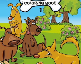 Dogs Coloring Book 1