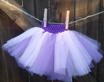 Crochet Headband Waist Tutu With Matching Headband