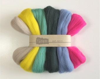 Merino Roving Pack / Wool Roving / Lontwol