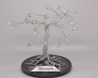 Clear bead tree