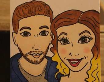 Personalised Caricature Cards for any Special Occasion