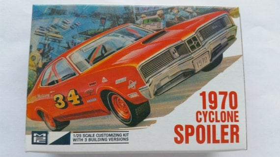 1970 Mercury Cyclone 1/64 Model Car