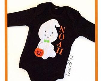 Halloween Sitting Ghost Top