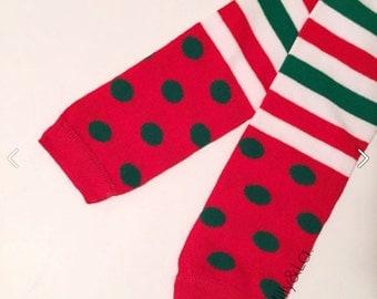 Christmas Leg Warmers