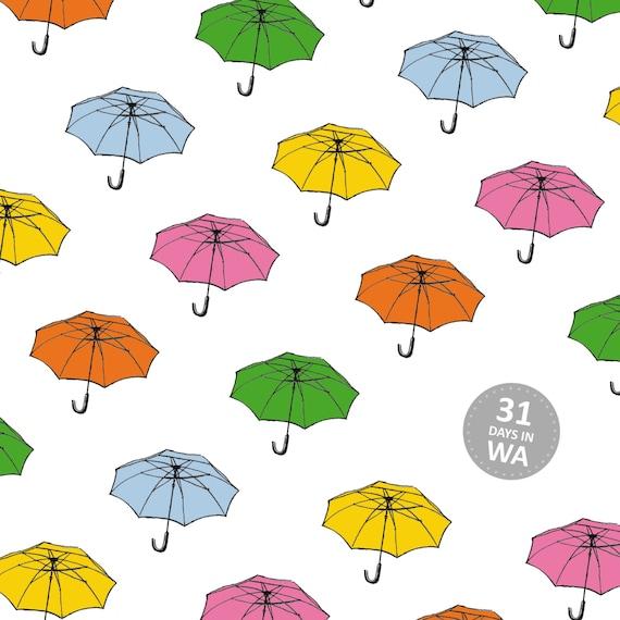 Day 9 Print: Under my Bella umbrella