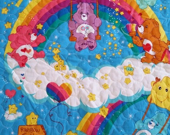 Carebears Quilted Blanket