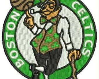 Celtics Embroidery Design