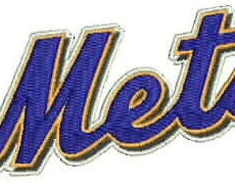 New York Mets Embroidery Design