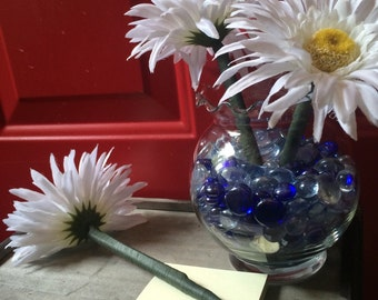 Flower pens with vase, guest book pens, party favor, teacher gift, office gift