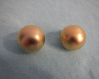 Balls Earrings, Vintage