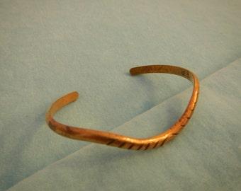 """Singed """"E.F.""""  Bracelet, Vintage"""