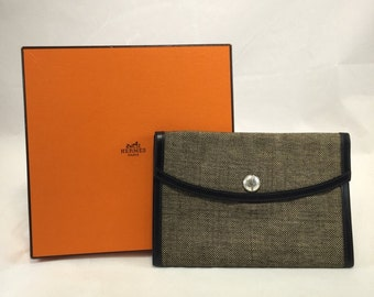 hermes envelope clutch